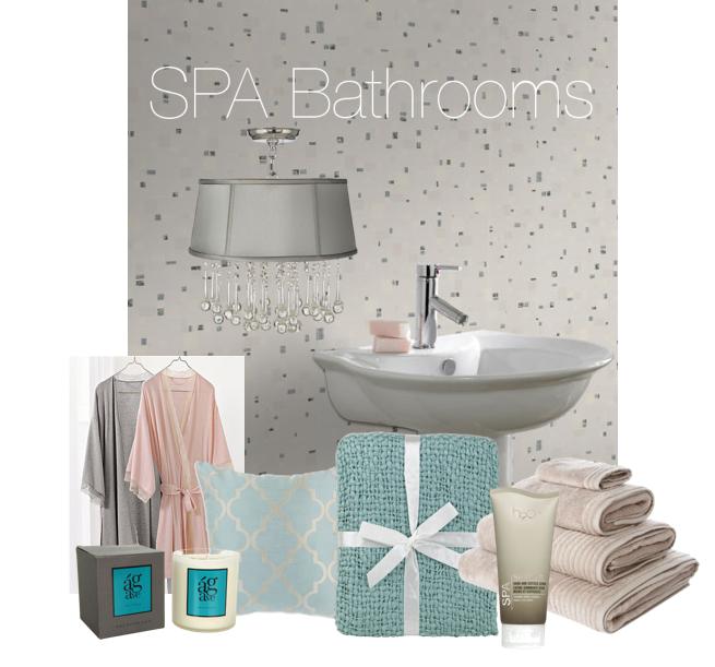 Home Spa Design Ideas: R&R: Spa Inspired Bathrooms